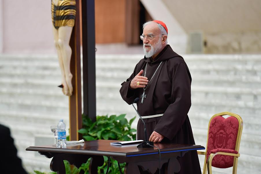 Card. Cantalamessa, première prédication de carême © Vatican Media