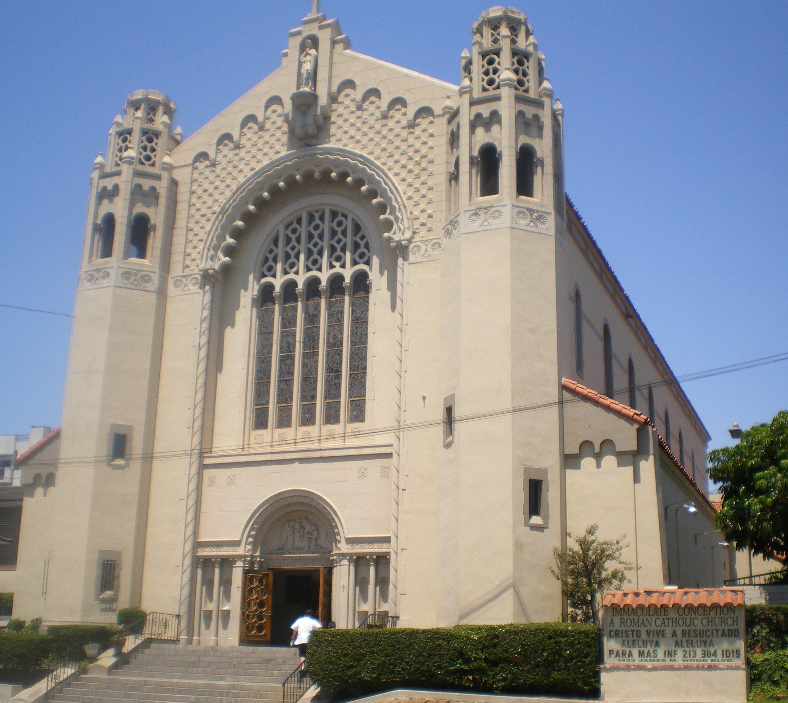 Cathédrale de l'Immaculée @ wikimedia commons / Los Angeles