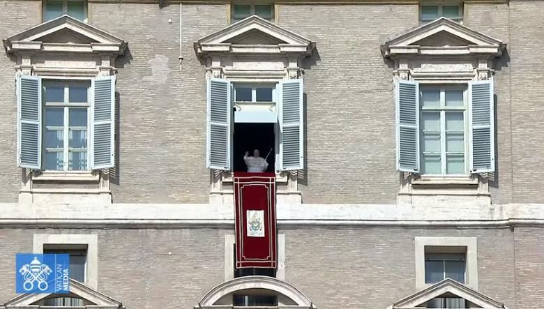 Angélus du 28 février 2021 © Vatican Media