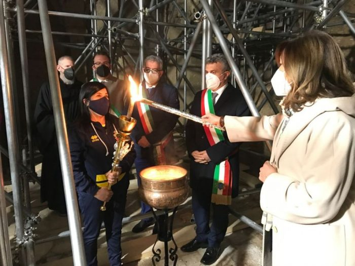 La Torche pro pace et pro Europa una © comune.subiaco.rm.it