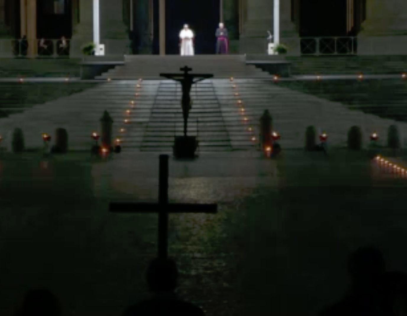 Chemin de croix 2020 au Vatican, capture @ Vatican Media