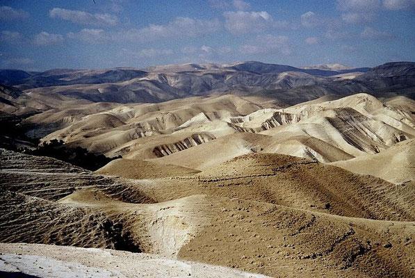 Le désert de Judée @ wikimedia commons