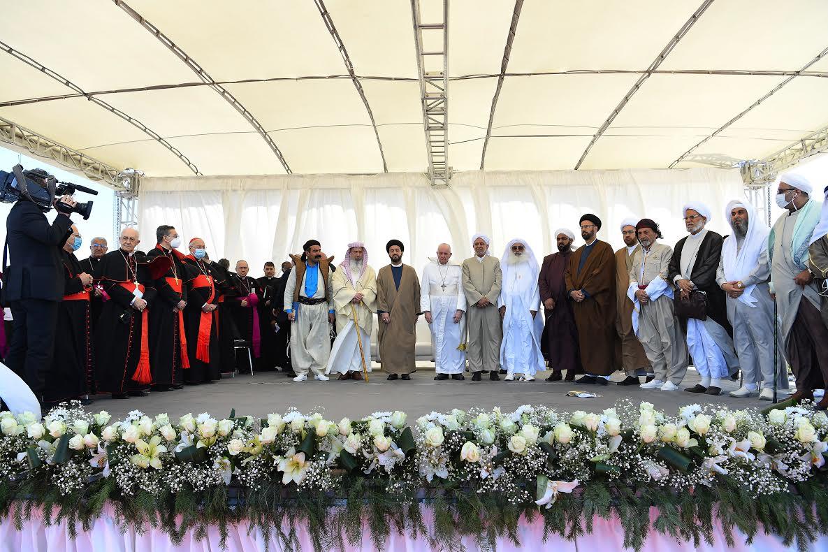 Ur (Irak) 6 mars 2021 © Vatican Media
