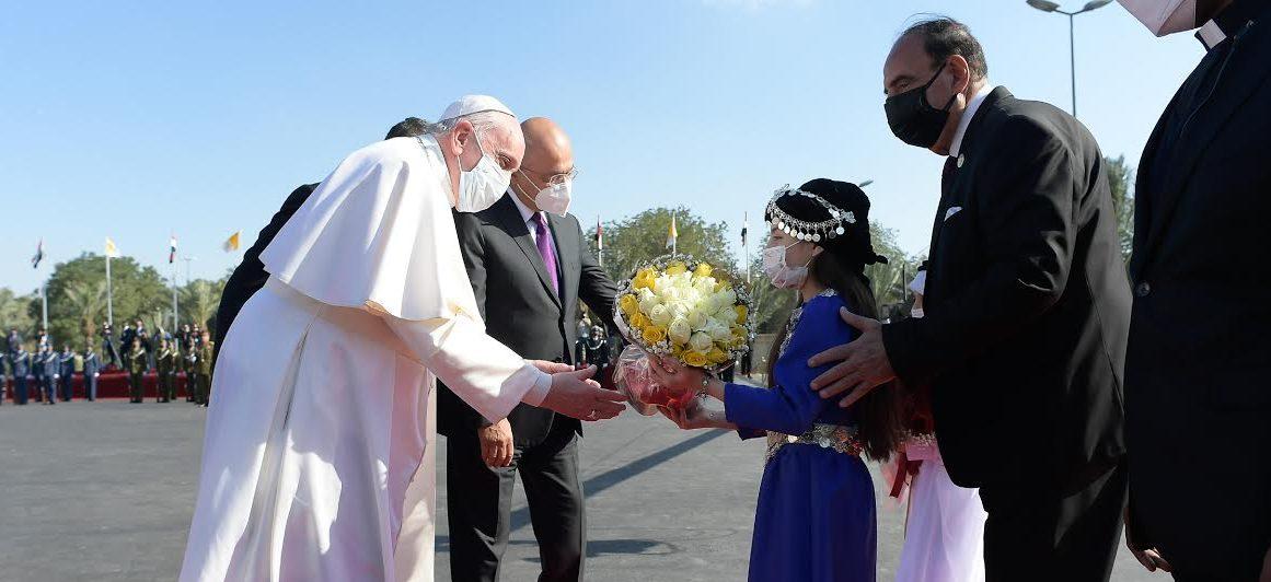 Arrivée, aéroport de Bagdad, Irak, 5 mars 2021 © Vatican Media