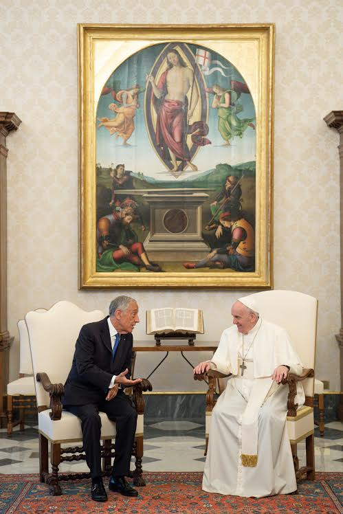 Président Marcelo Rebelo de Sousa (Portugal) © Vatican Media