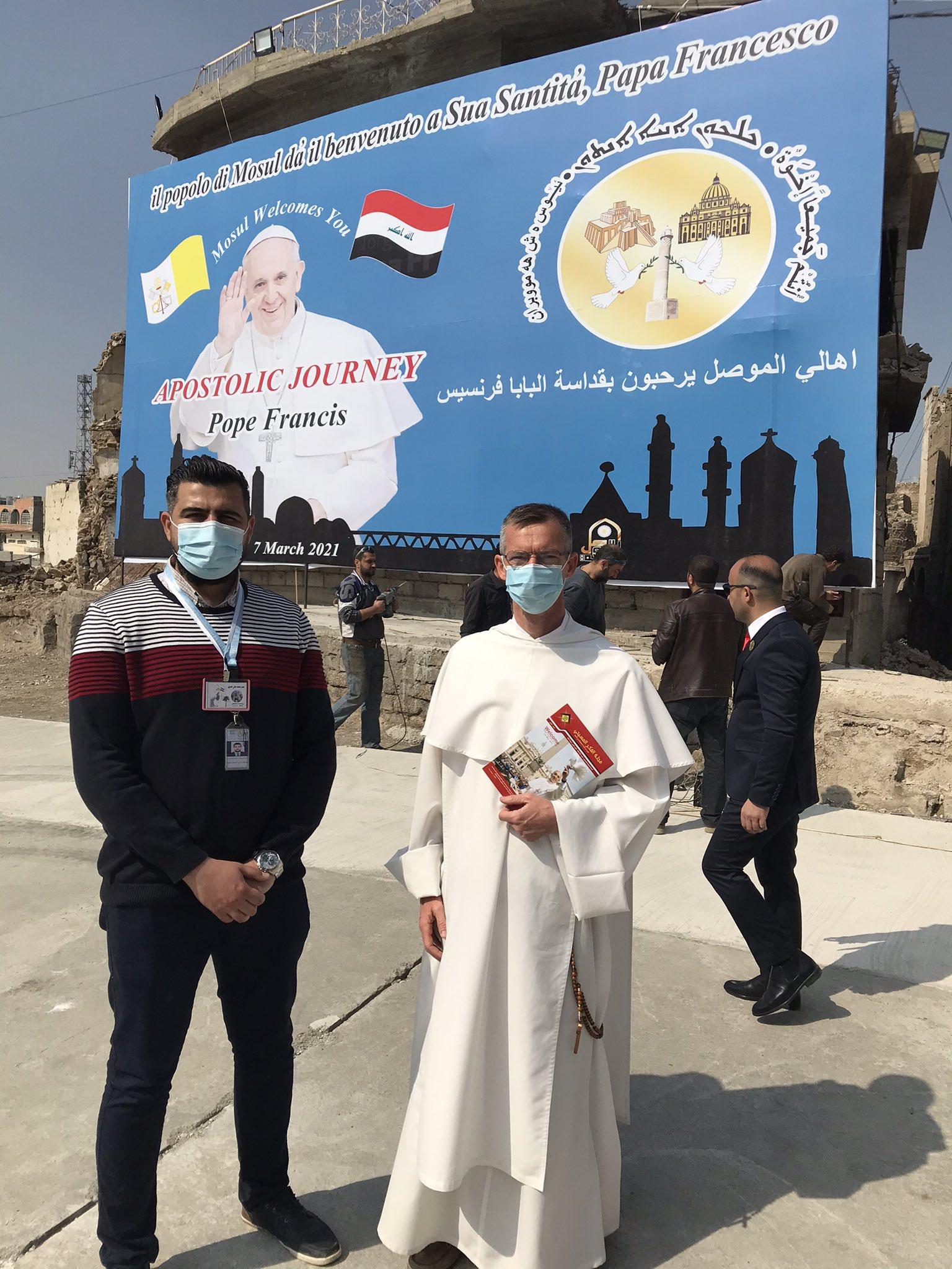 Mossoul attend le pape François @OPoquillon