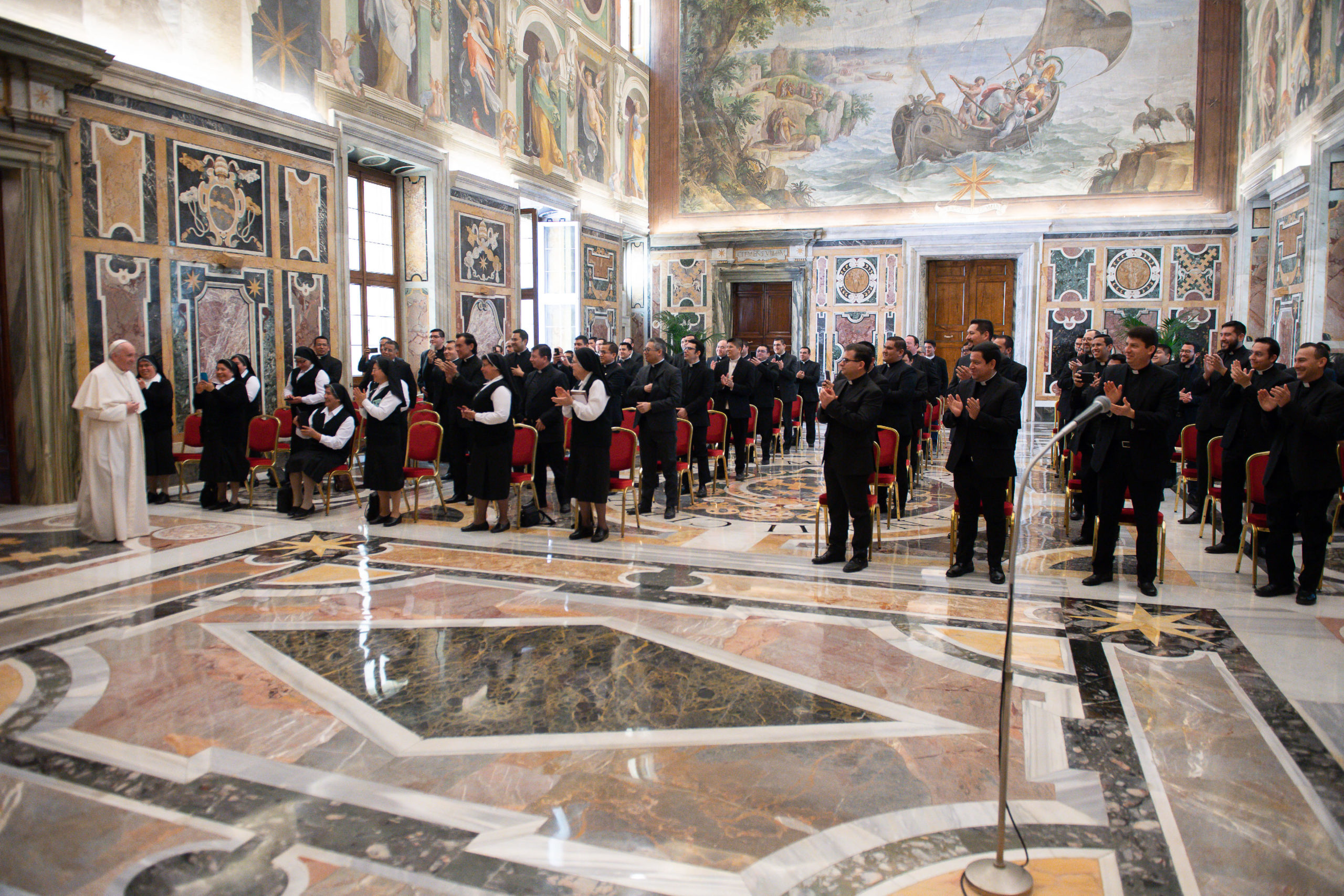 Collège pontifical mexicain, 29 mars 2021 © Vatican Media