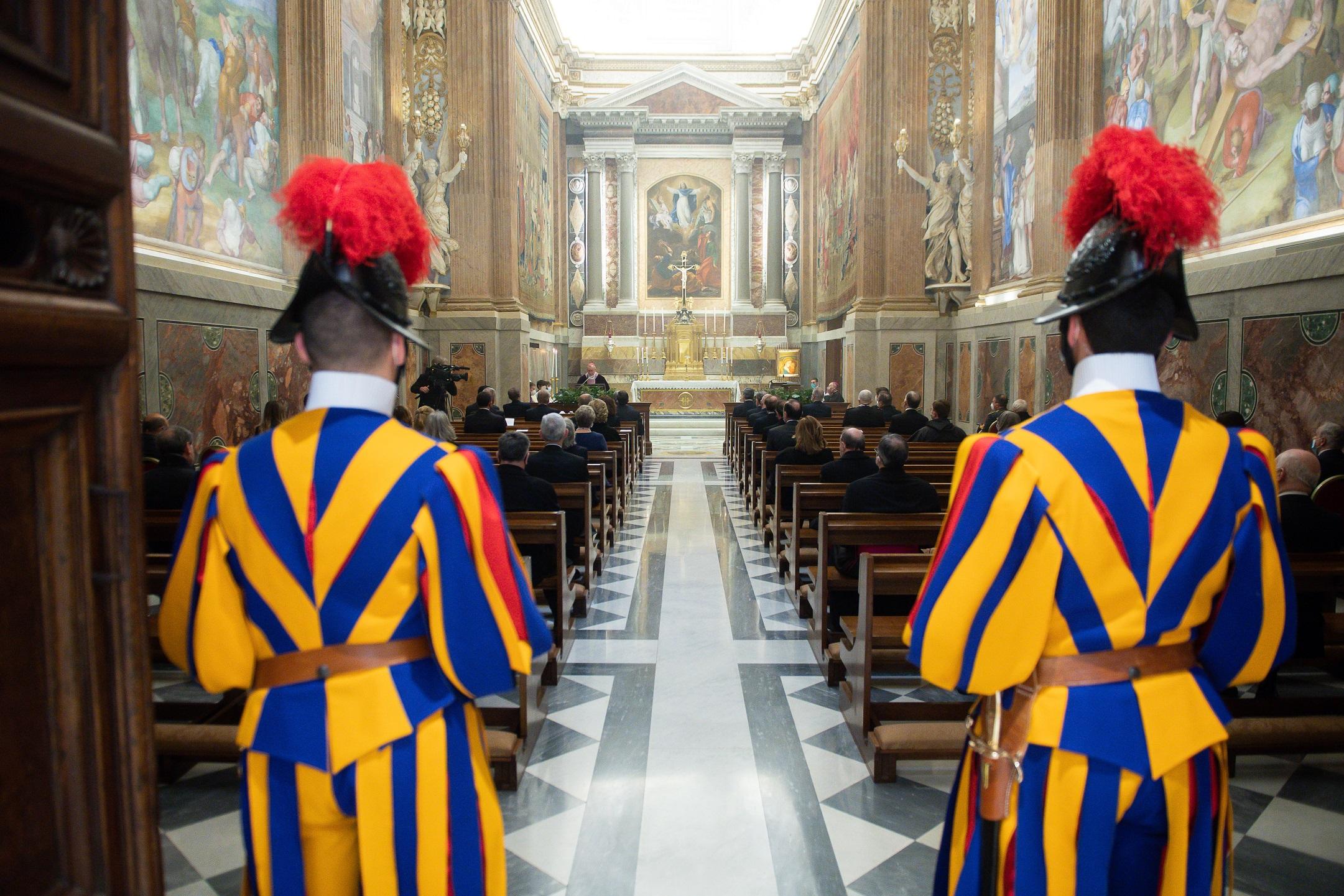 Messe du card. Parolin pour l'inauguration de l'année judiciaire © Vatican Media