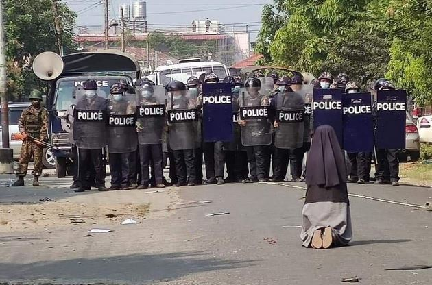 Soeur Ann Nu Thawng (Birmanie), 28 fév. 2021 @ Myitkyina News Journal