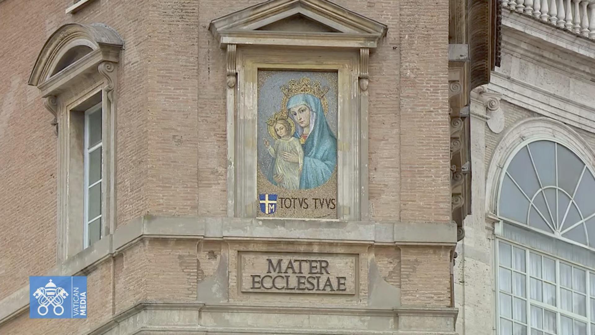 Angélus, 14 mars 2021, capture @ Vatican Media