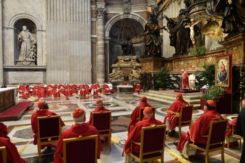Angélus, Rameaux, 28 mars 2021 © Vatican Media