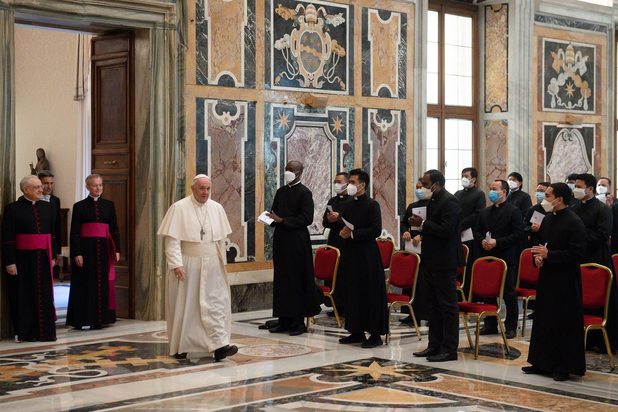 Collège pontifical philippin © Vatican Media