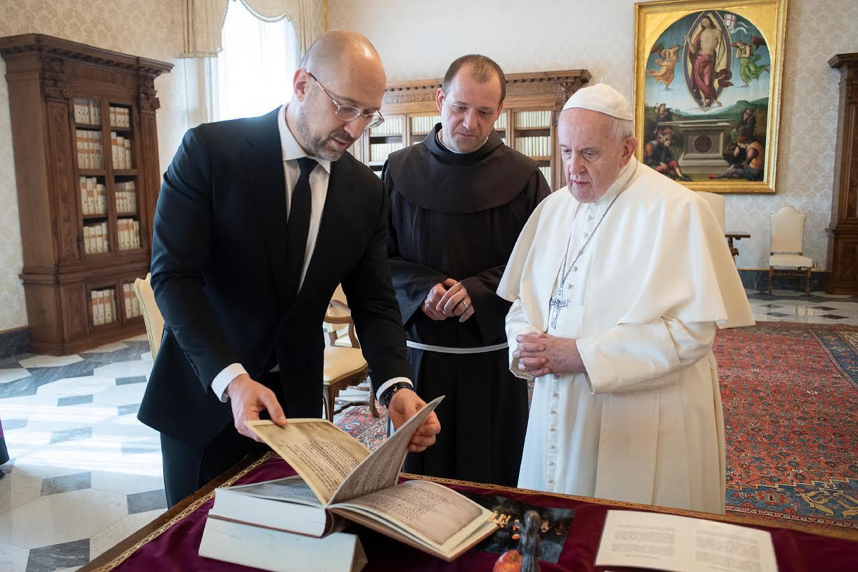 M. Denys Shmyhal © Vatican Media