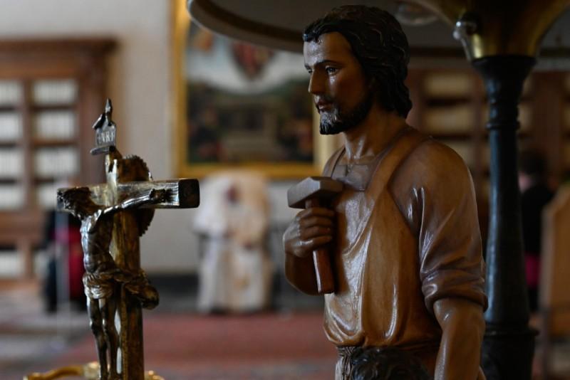Saint Joseph © Vatican Media