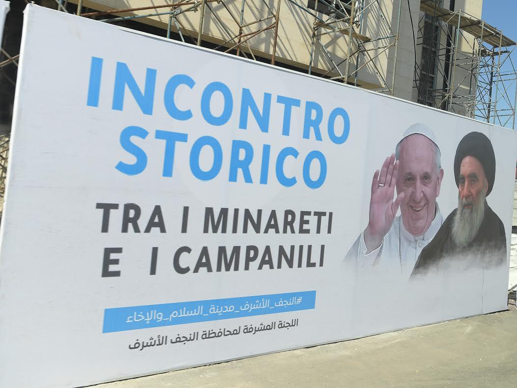 """Rencontre historique entre minarets et clochers"" © Vatican Media"