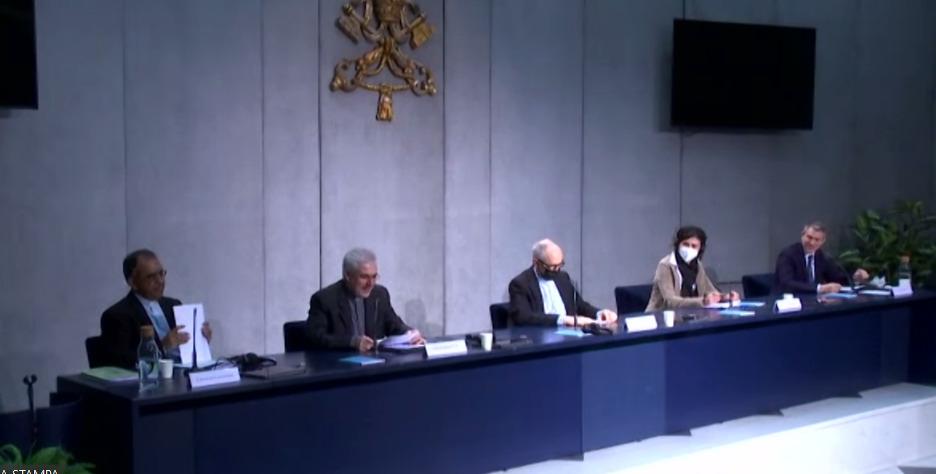 Conférence de presse des Orientations pastorales pour les déplacés climatiques