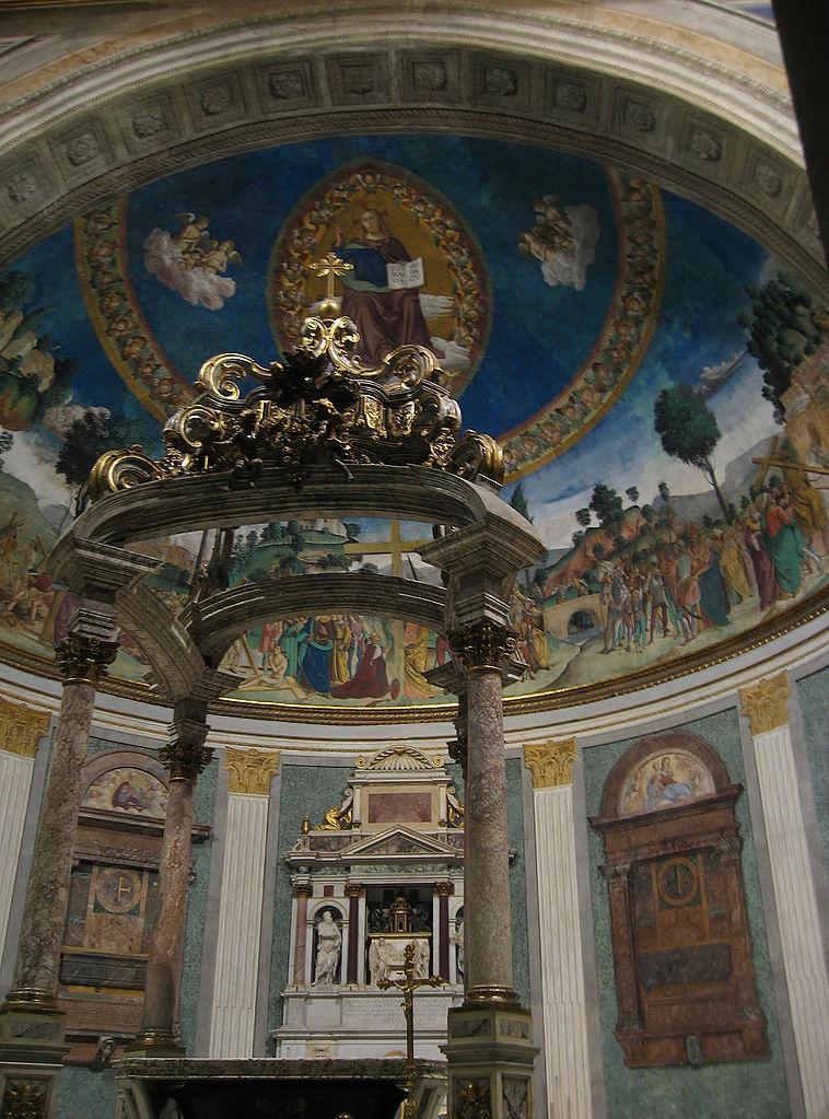 Basilique Sainte-Croix-en-Jérusalem (Rome) © wikimedia commons / Manfred Heyde