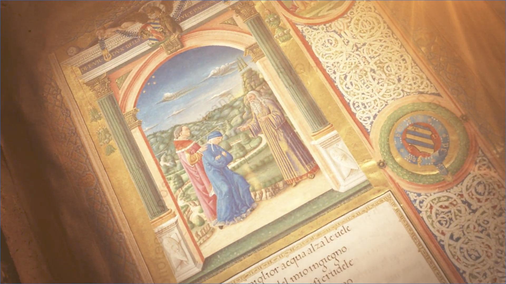 Dante Alighieri, capture @ vaticanlibrary.va