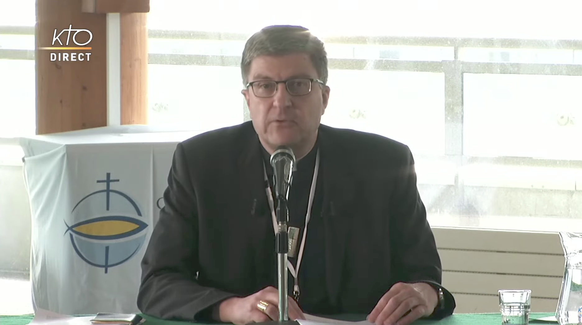 Mgr Eric de Moulins-Beaufort, capture @KTO