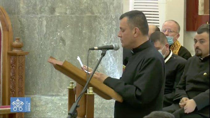 Qaraqosh, p. Ammar Yako , capture @ Vatican Media