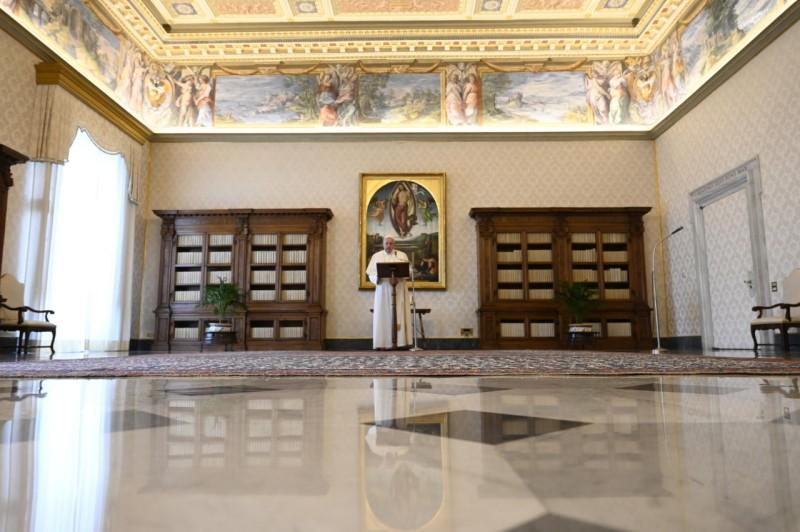 Angélus du 21 mars 2021 © Vatican Media