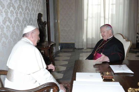 Mgr Alain Paul Lebeaupin © Vatican Media