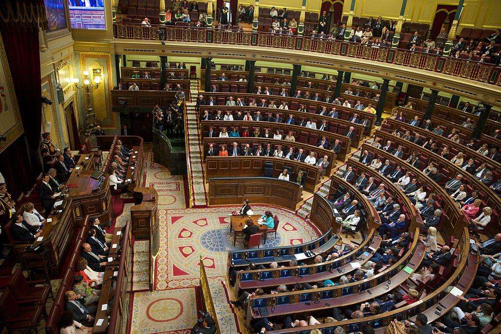 Congrès des députés espagnols @ wikimedia commons Presidencia de la República Mexicana