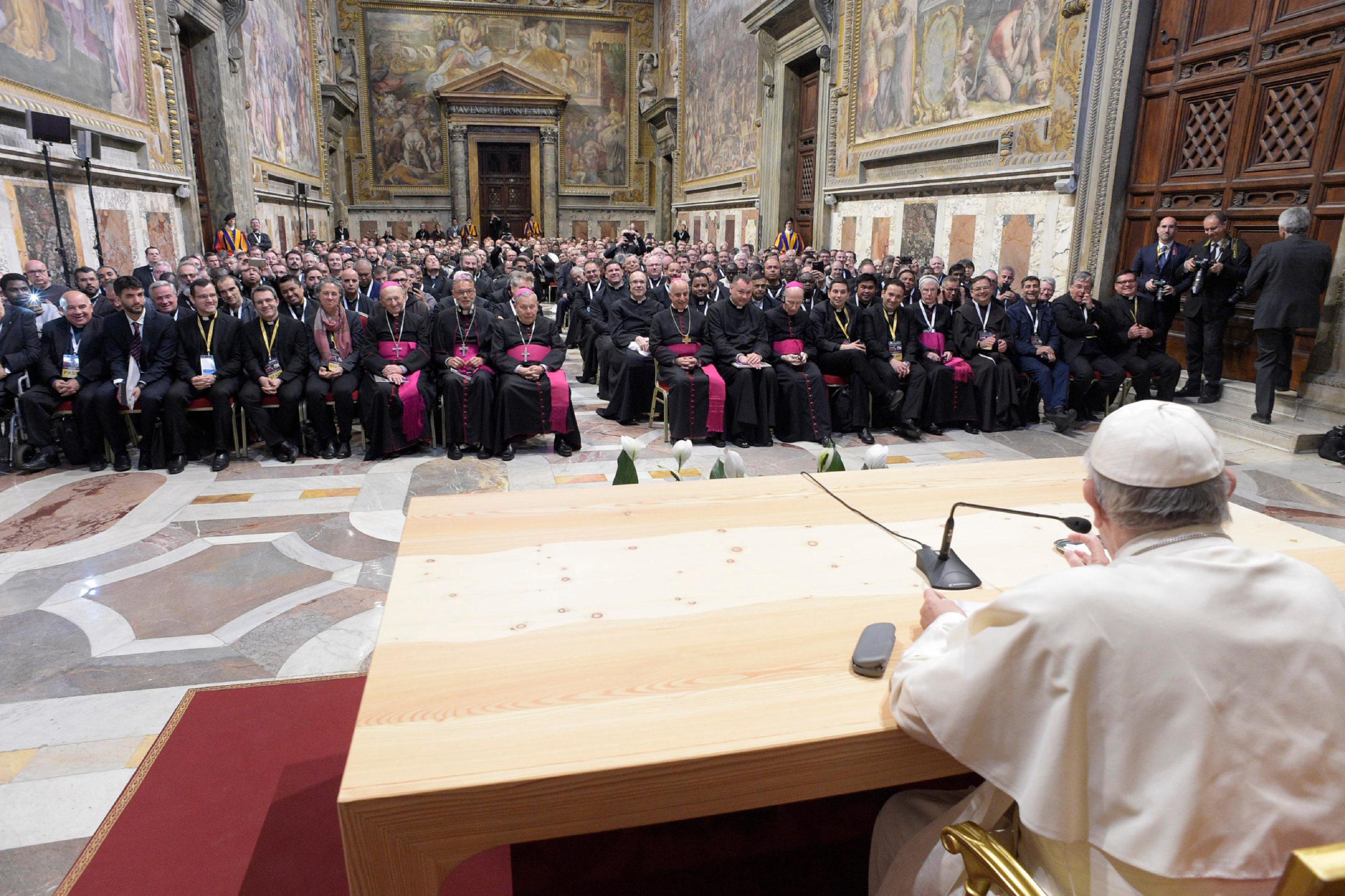 Missionnaires De La Miséricorde 10/04/2018 © Vatican Media