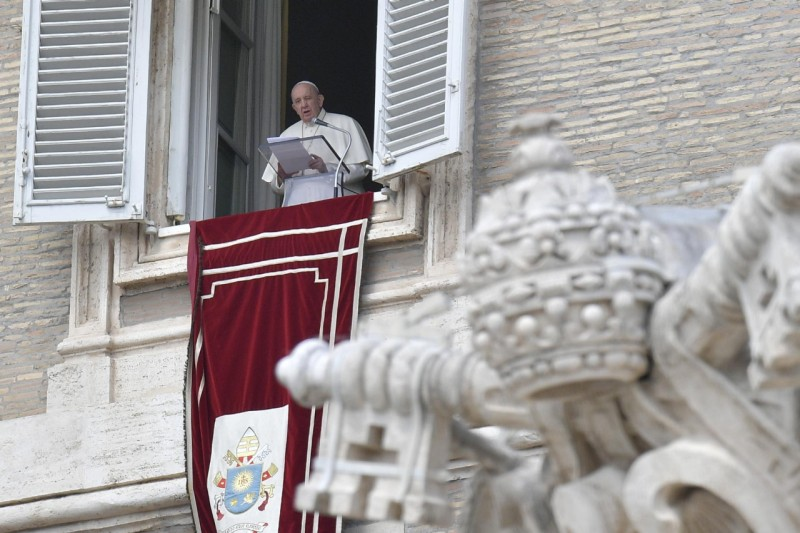 Regina Coeli du 18 avril 2021 © Vatican Media