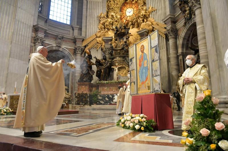 Pâques, 4 avril 2021 © Vatican Media