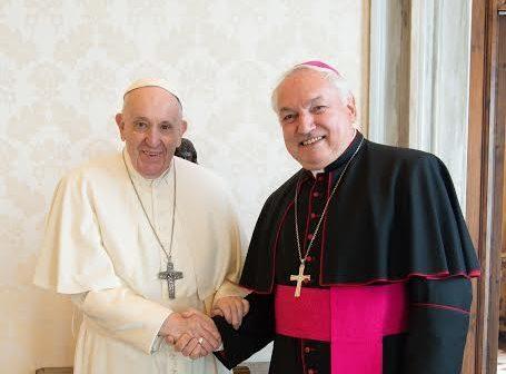 Mgr Aveline, 9 av. 2021 © Vatican Media