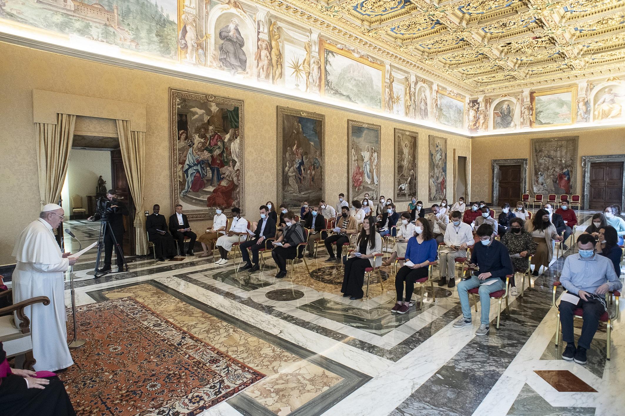 Fraternité politique du Chemin Neuf © Vatican Media