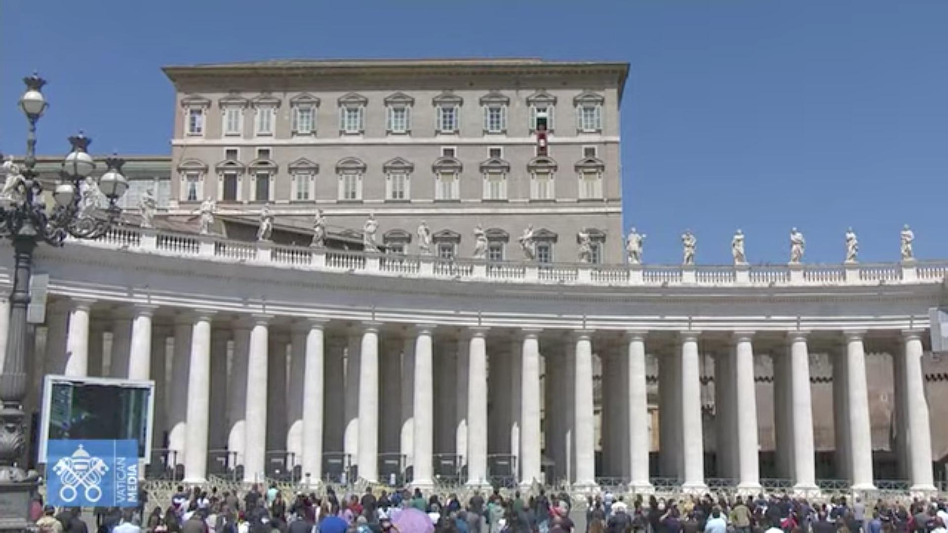 Regina Caeli, 25 avril 2021, capture @ Vatican Media