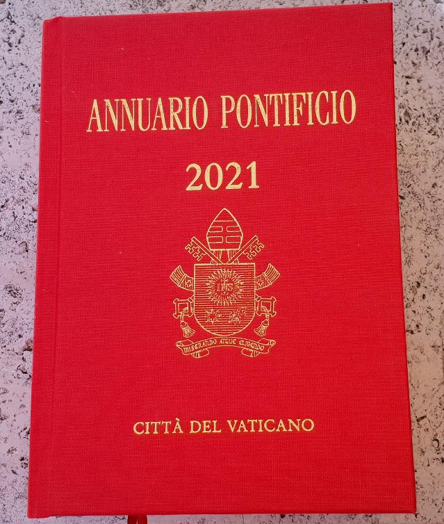 Annuaire pontifical 2021 @ LEV