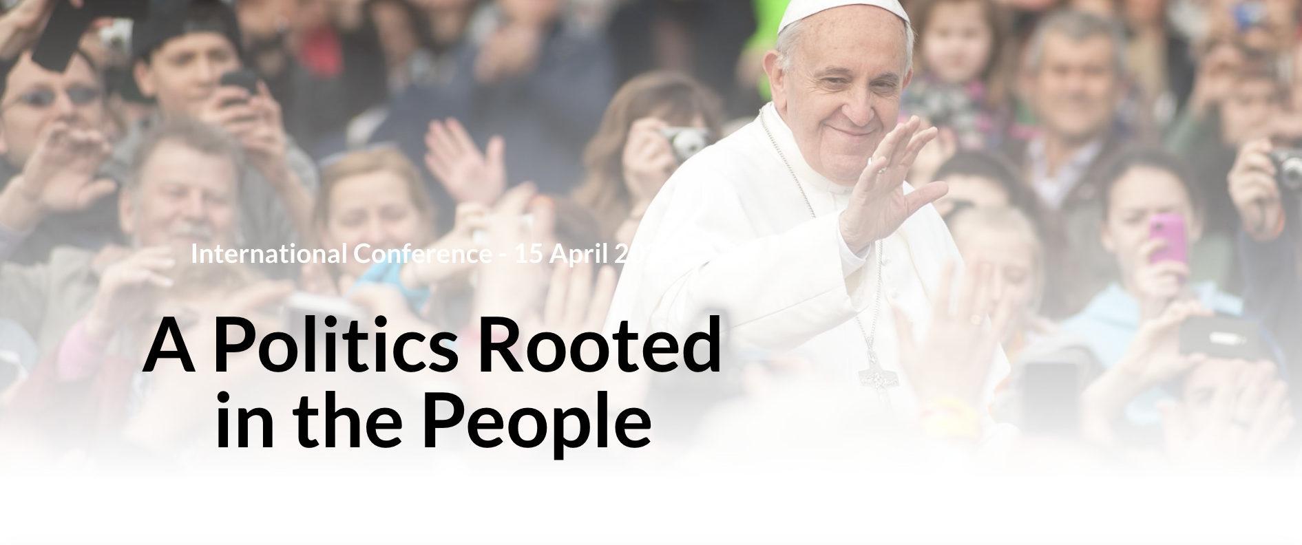 La politique enracinée dans le peuple, capture @ Centre for Theology & Community