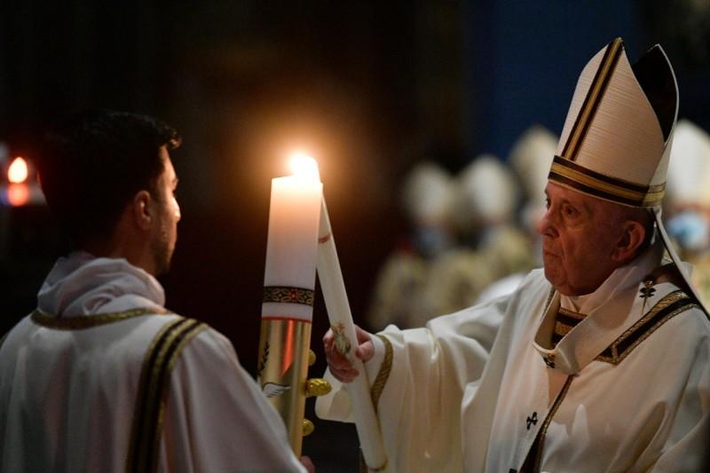 Veillée de Pâques, 3 avril 2021 © Vatican Media