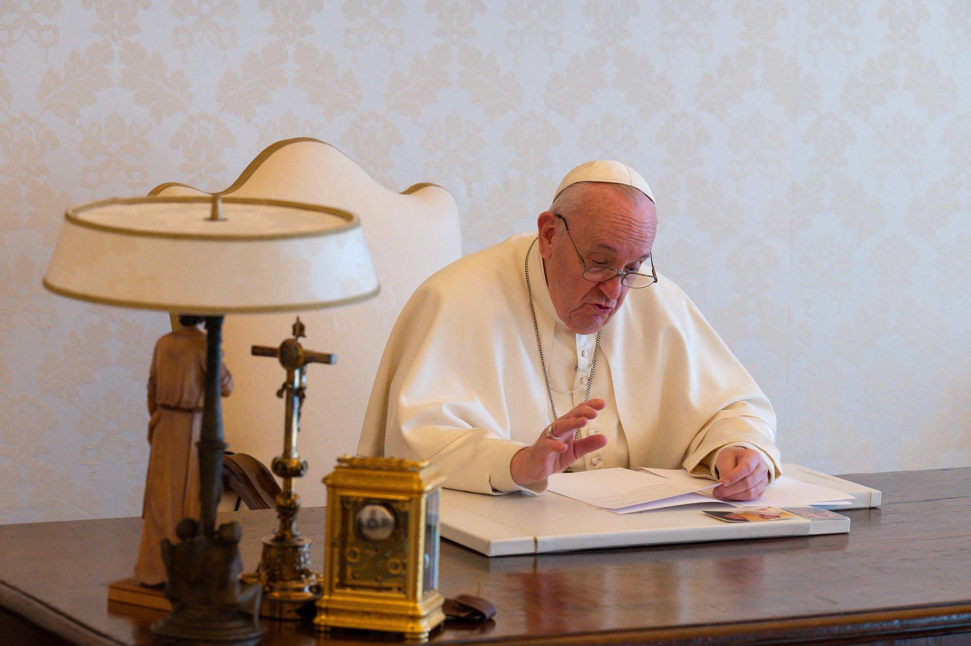 Message pour la Journée de la Terre © Vatican Media
