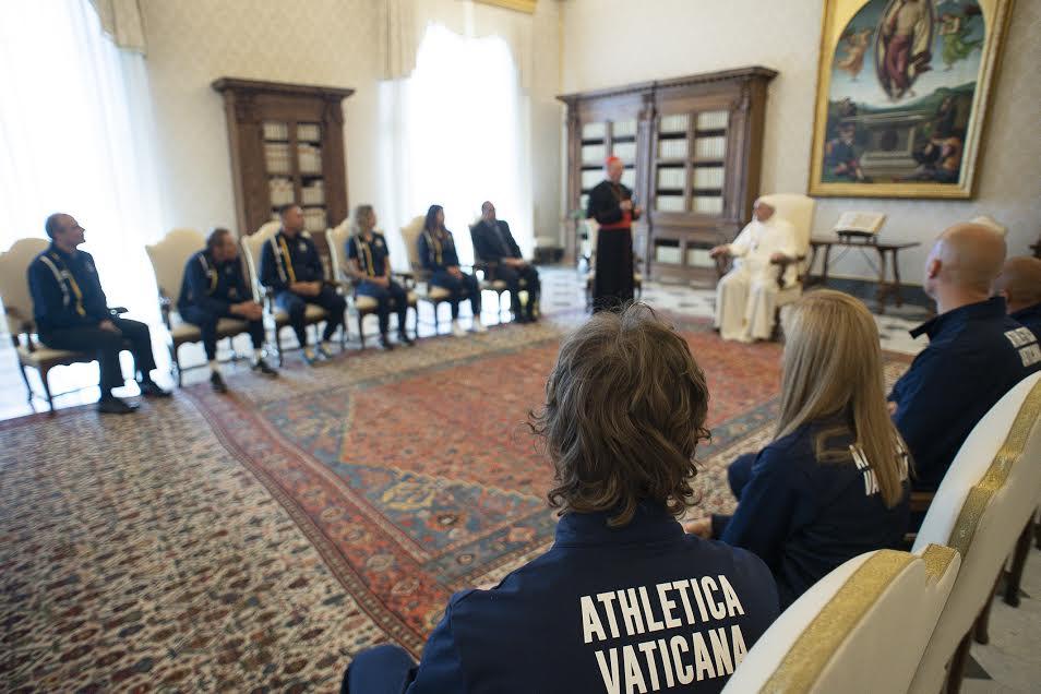 Athletica Vaticana, 29 mai 2021 © Vatican Media