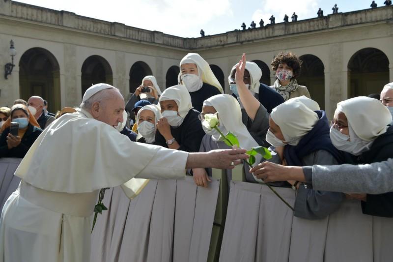 Audience générale du 12 mai 2021 © Vatican Media