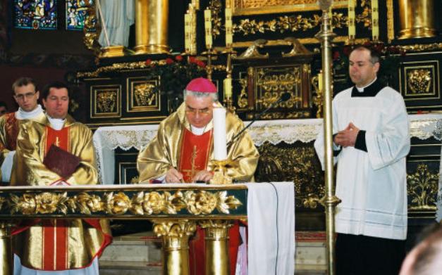 Mgr Jan Tyrawa © diecezja.bydgoszcz.pl/
