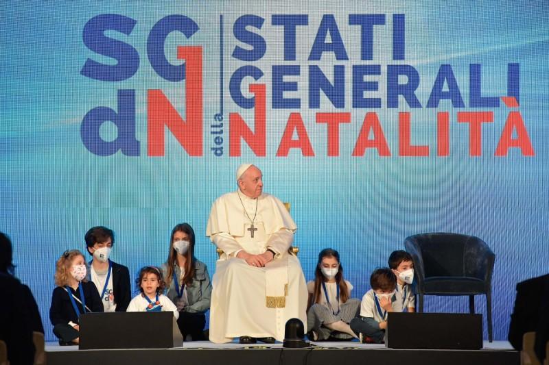 Etats généraux de la natalité, 14 mai 2021 © Vatican Media
