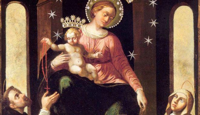 Notre Dame du Rosaire, Pompéi (Italie), capture @ Vatican News