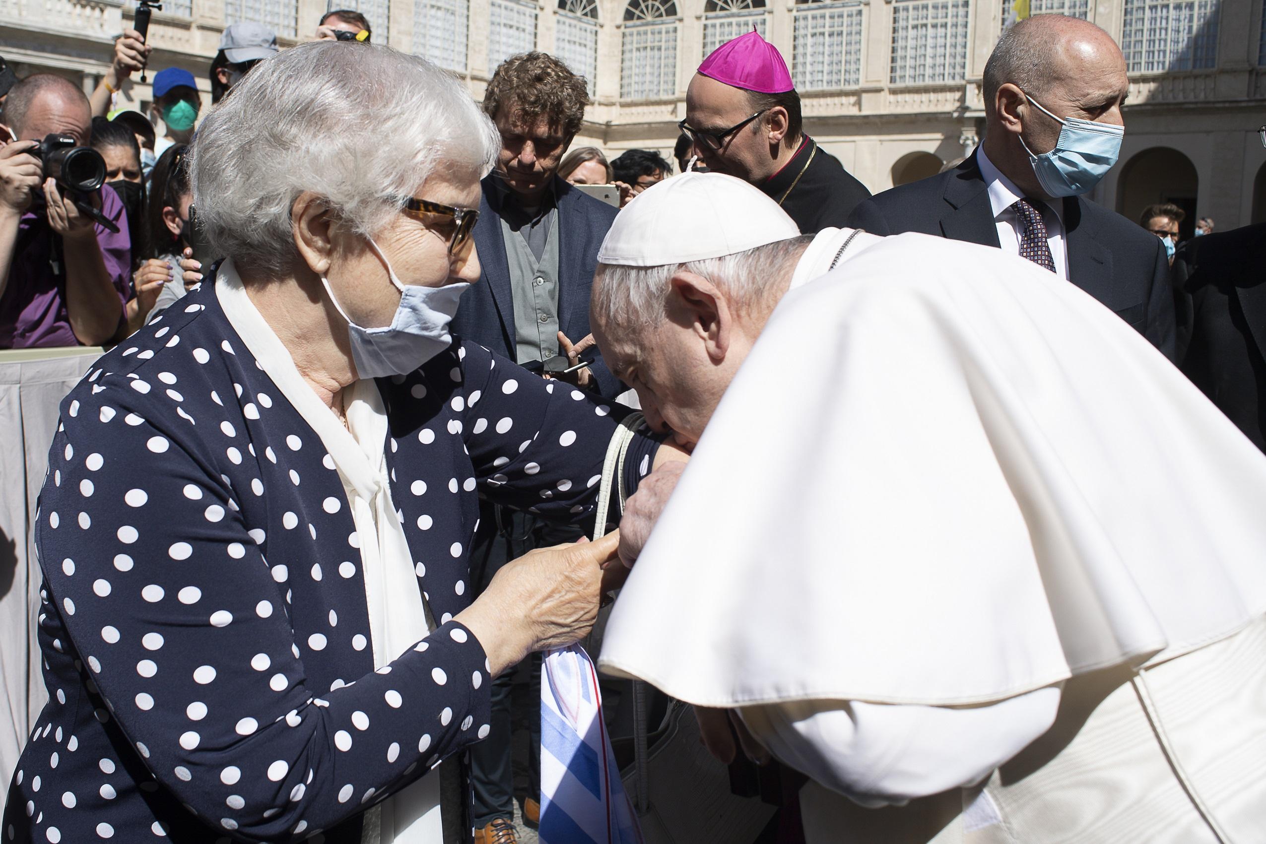 Lidia Maksymowicz © Vatican Media