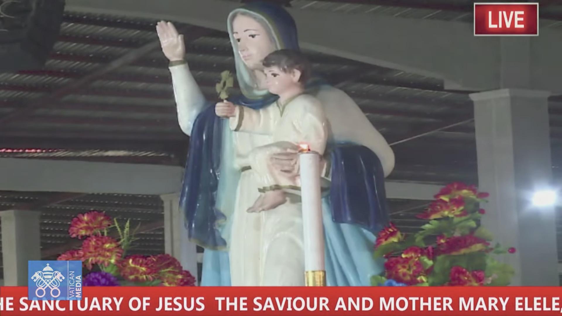 Marie, Mère du Sauveur, Elele, Nigeria, capture @ Vatican Media