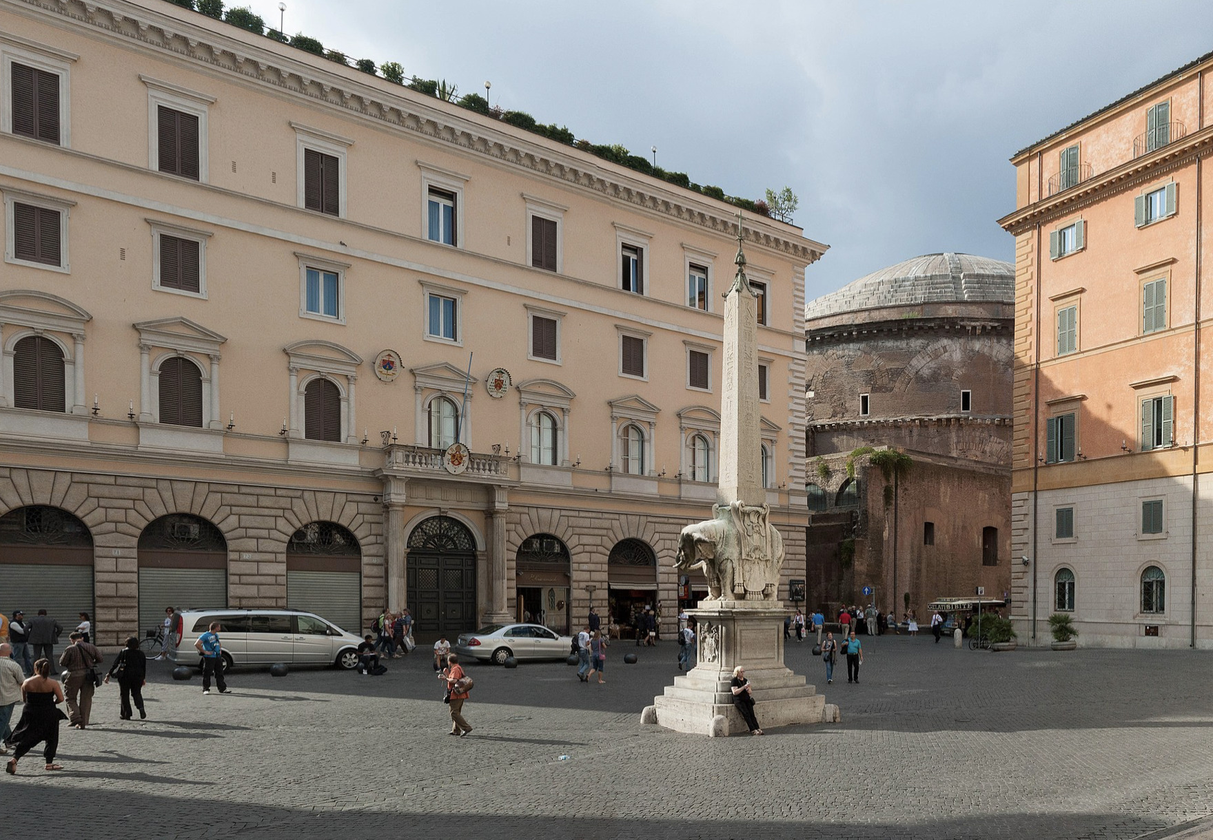 Académie pontificale ecclésiastique © Wikimedia commons / JTSH26