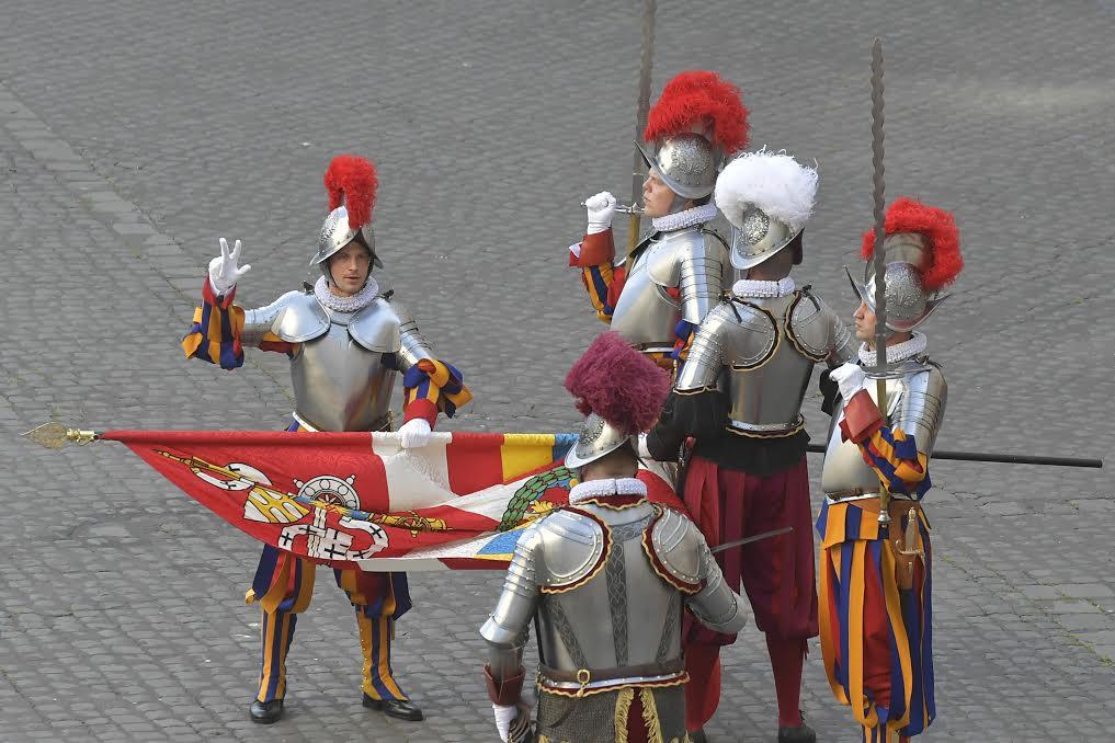 Garde suisse pontificale, 6 mai 2021 © Vatican Media