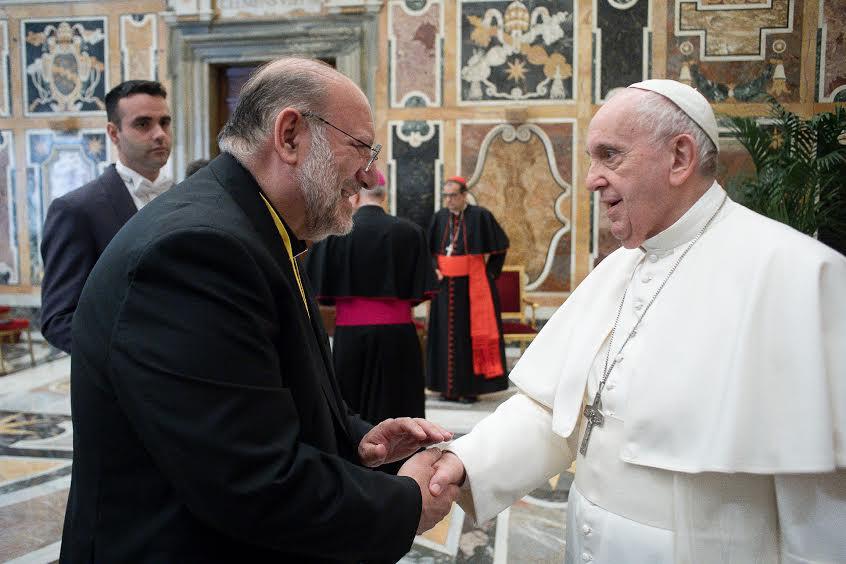 Don Di Noto, Association Meter © Vatican Media