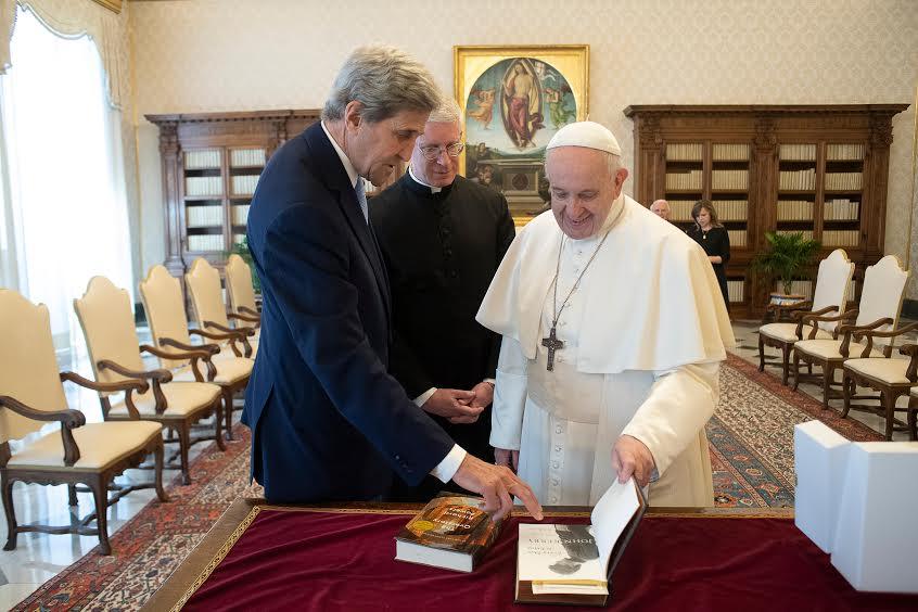 Visite de M. John Kerry © Vatican Media