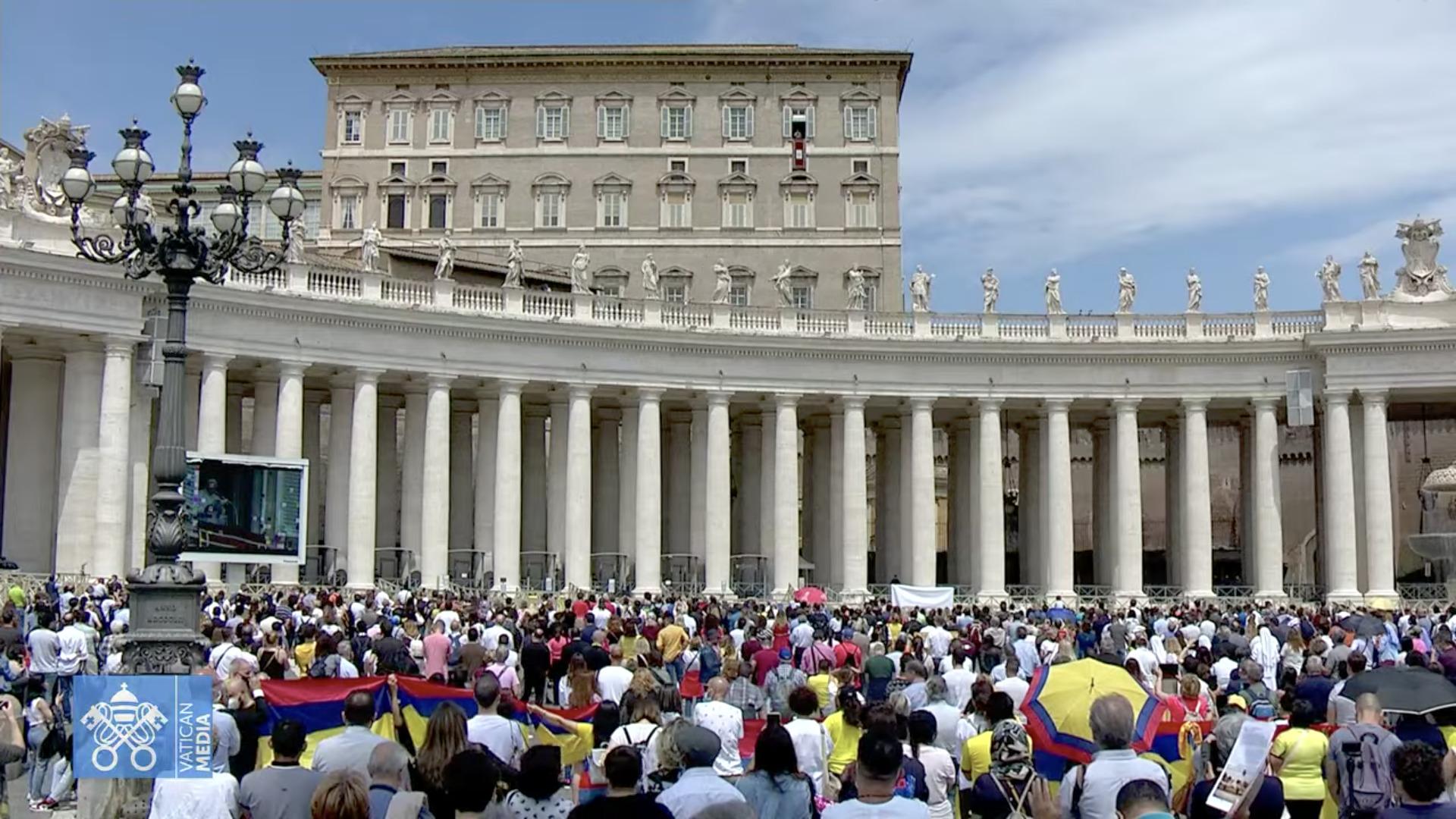 Angélus, 30 mai 2021, capture @ Vatican Media
