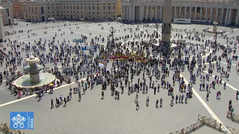 Regina Coeli du 9 mai 2021, capture Vatican Media